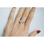 Cubic Zirconia Pave CZ Midi Knuckle 925 Silver Fashion Ring