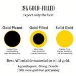 18K Gold Filled Shell Necklace, Boho Beach