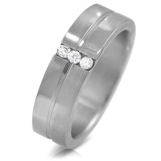 Jewelry Stainless Steel Cubic Zirconia Women-1